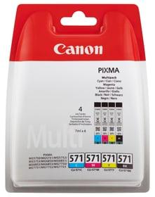 CLI-571 Multipack Cartucce d'inchiostro BKCMY Cartuccia d'inchiostro Canon 795845700000 N. figura 1