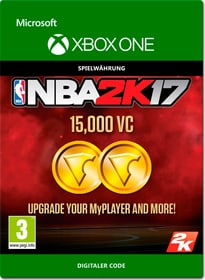 Xbox One - NBA 2K17: 15'000 VC Download (ESD) 785300137382 Bild Nr. 1