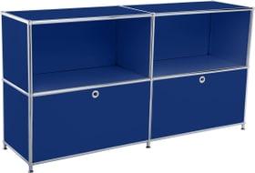 FLEXCUBE Buffet 401814020240 Dimensions L: 152.5 cm x P: 40.0 cm x H: 80.5 cm Couleur Bleu Photo no. 1