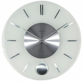 Horloge murale Stripe Pendulum Round 40 Horologe murale NexTime 785300140005 Photo no. 1