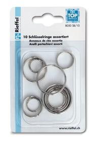 Anneaux de clés  20mm, 10 pièces Porte-clés Rieffel 605603000000 Photo no. 1