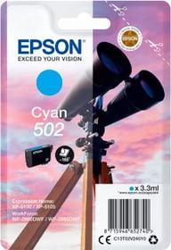 cartuccia d'inchiostro 502 cyan Cartuccia d'inchiostro Epson 798559100000 N. figura 1