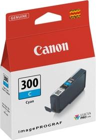 PFI-300 Cartouche d'encre cyan Cartouche d'encre Canon 798289100000 Photo no. 1