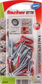 DUOPOWER 5 x 25 inkl. Schrauben Universaldübel fischer 605439700000 Bild Nr. 1