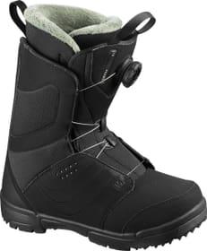 Pearl Boa Scarpone da snowboard Salomon 495532225020 Taglie 25 Colore nero N. figura 1