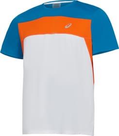 Race SS Top Herren-T-Shirt Asics 470459400310 Grösse S Farbe weiss Bild-Nr. 1