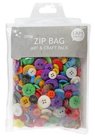 Set di bottoni, Zip I AM CREATIVE 666020000000 N. figura 1
