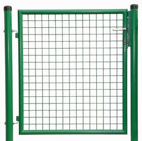 Cancello da giardino verde 636640500000 N. figura 1