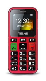 Emporia Telme C150 Mobiltelefon rot Emporia 95110039767315 Bild Nr. 1