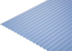 PVC-Platten Kleinwellung 8/32 676423200000 Farbe Klar-Azur Grösse L: 650.0 mm x B: 1000.0 mm x H: 8.0 mm Bild Nr. 1