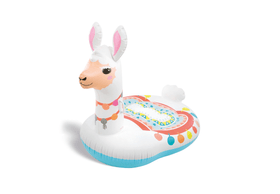 Cute Llama Ride-on Badetier Intex 464726700000 Bild-Nr. 1