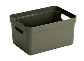 Sigma home Box 13L Aufbewahrungsbox 603752400000 Farbe Dunkelgrün Grösse L: 346.0 mm x B: 245.0 mm x H: 185.0 mm Bild Nr. 1