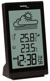 Horloge murale radio WS8015 blanche Datu technoline 785300140774 Photo no. 1