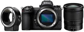 Z 7II + 24–70mm F4 + FTZ Kit Systemkamera Kit Nikon 785300156042 Bild Nr. 1