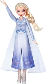 Poupée chantante Elsa Frozen II (F) Poupées Disney 747486790100 Langue _FR Photo no. 1