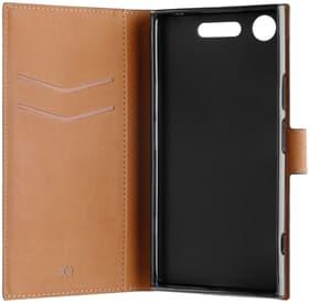 Xqisit Slim Wallet Case noir Xperia XZ1