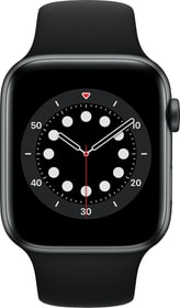 Watch Series 6 LTE 44mm Space Grey Aluminium Black Sport Band Smartwatch Apple 785300155507 Photo no. 1