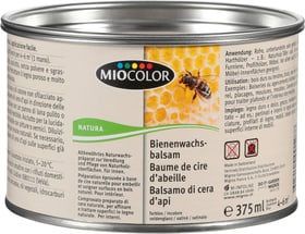 Baume de cire d' abeille Incolore 250g Huiles + Cires pour le bois Miocolor 661115000000 Photo no. 1