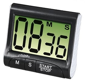 Küchentimer Countdown digital Schwarz 9000036014 Bild Nr. 1