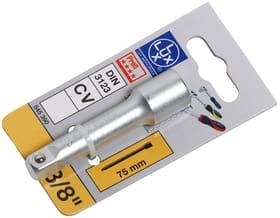 "Verlängerung 3/8"" Comfort 75 mm Verlängerung Lux 601029700000 Bild Nr. 1"