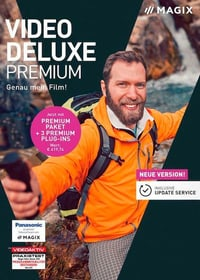 MAGIX Video deluxe Premium 2019 [PC] (F/I) Physisch (Box) 785300139174 Bild Nr. 1