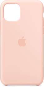 iPhone 11 Pro Silikon Case Pink Sand Hülle Apple 785300146955 Bild Nr. 1