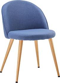 CONTI II Stuhl 403704200040 Farbe Blau Grösse B: 50.0 cm x T: 56.0 cm x H: 77.0 cm Bild Nr. 1