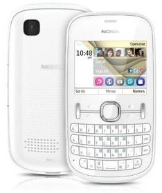 NOKIA ASHA 200 PEARL WEISS Mobiltelefon Nokia 95110003549413 Bild Nr. 1