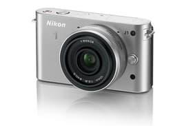 Nikon-1 J1 Kit mit 10mm/2.8 silber Appar 95110002962213 Photo n°. 1