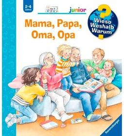 Mamma, papà, nonna, nonno Libro di saggistica per bambini 785300159270 N. figura 1