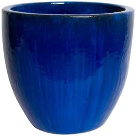 Pham Vaso per piante Do it + Garden 657654700004 Taglio ø: 30.0 cm x A: 27.0 cm Colore Royalblue N. figura 1