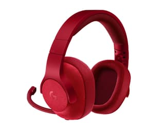 Logitech G433 Casque gaming filaire 7.1 surround rouge