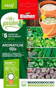 Aromatiche Mix 5xø10cm Sementi di erbe Blumen 650233500000 N. figura 1