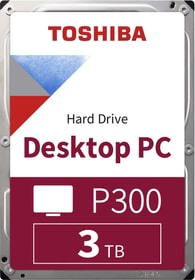"P300 High Performance 3TB 3.5"" SATA (BULK) Hard disk Interno HDD Toshiba 785300137550 N. figura 1"