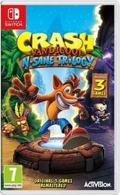 Switch - Crash Bandicoot N. Sane Trilogy Box 785300133510 Lingua Italiano Piattaforma Nintendo Switch N. figura 1