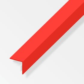 Winkel-Profil gleichschenklig 1 x 25 x 25 mm PET rot 1 m sk alfer 605141100000 Bild Nr. 1