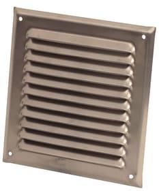 Griglia di aerazione senza montanti Suprex 678016800000 Colore Alluminio Annotazione 165 x 165 mm N. figura 1