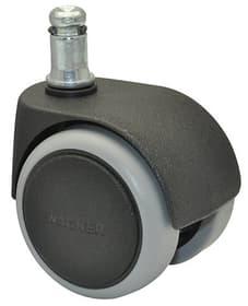 Rotella doppia D50 mm 5 pz. Ruota per mobili Wagner System 606427300000 N. figura 1