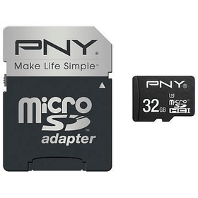 micro SDHC-Card Turbo Performance 90MB/s 32GB inkl. SD Adapter