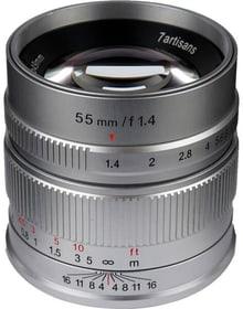 55mm F1.4 Sony E argento Obiettivo 7Artisans 785300160178 N. figura 1