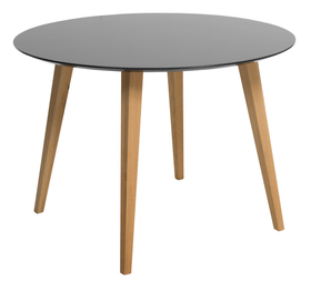 NOSTRO Table 402240300000 Dimensions L: 110.0 cm x P: 110.0 cm x H: 74.0 cm Couleur Anthracite Photo no. 1