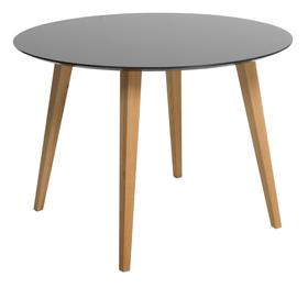 NOSTRO Tisch 402240300000 Grösse B: 110.0 cm x T: 110.0 cm x H: 74.0 cm Farbe Anthrazit Bild Nr. 1