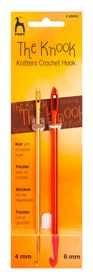 Knooking Needle Nr. 4&6 667094400010 Grösse ø: 4.0 mm x L: 24.0 cm x H: 0.5 cm Bild Nr. 1