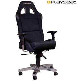 Office Seat Alcantara Schwarz