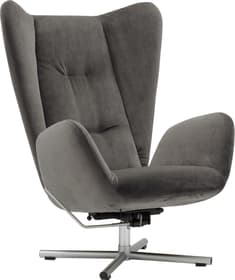 BISCUIT Sessel 402484100000 Grösse B: 76.0 cm x T: 90.0 cm x H: 105.0 cm Farbe Dunkelgrau Bild Nr. 1