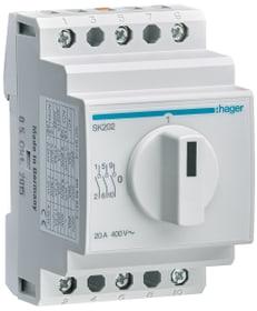 Interrupteur rotatif 3 pôle 20 A 0-I pour DIN Drehschalter Hager 612169500000 Photo no. 1