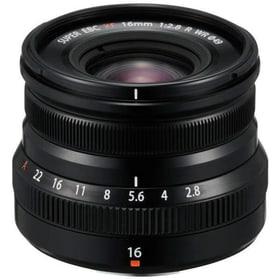 XF 16mm F2.8 R WR schwarz Objektiv FUJIFILM 785300145113 Bild Nr. 1