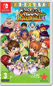 NSW - Harvest Moon: Light of Hope - Complete Special Edition Box 785300157645 N. figura 1