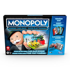 Monopoly Banking Cash-Back Jeux de société 748669500000 Photo no. 1