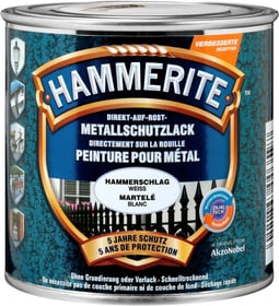 Pittura per metalli martellat weiss 250 ml Hammerite 660805100000 Colore Bianco Contenuto 250.0 ml N. figura 1